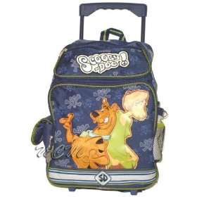 Scooby Doo Rolling Backpack