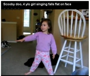 4 year old singing