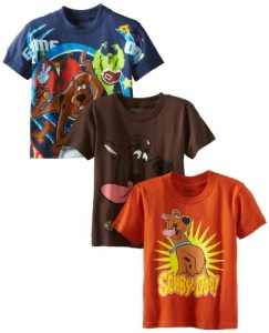 3 pack of Scooby tshirts