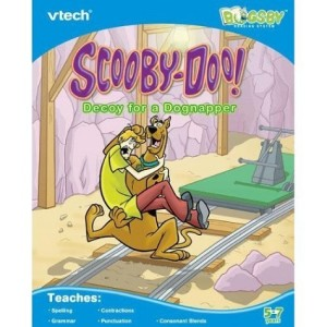 Scooby Doo Vtech Reading Book