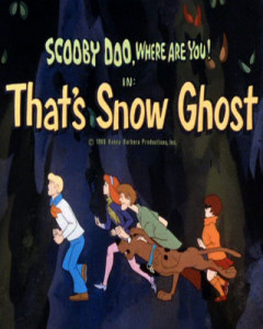 That's Snow Ghost Episode first aired on January 17, 1970.