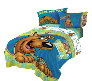 Smiling Scooby Comforter