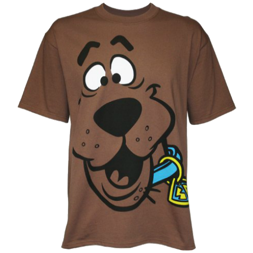 Mens Scooby Doo Face T-shirt