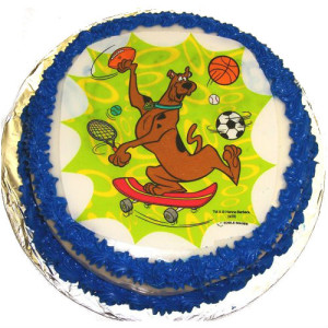 Scooby Doo Party Cake