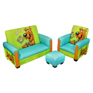 Scooby Doo Sofa, Chair and Ottoman