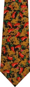 Scooby Doo Hot Peppers Tie
