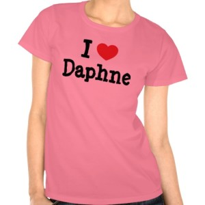 I Love Daphne Shirt