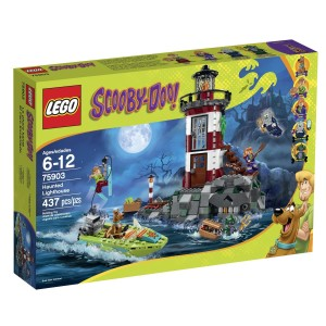 LEGO 75903 – Scooby Doo Haunted Lighthouse Building