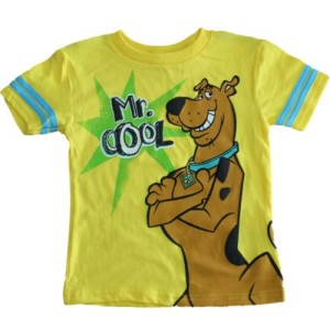 Scooby-Doo Mr. Cool Little Boys T-shirt (2T-4T)