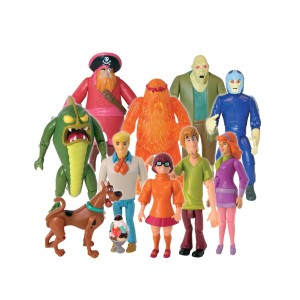 Scooby Doo Action Figure Set