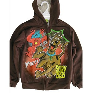 Scooby Doo Brown Hooded Sweater