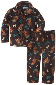 Boys' Scooby Doo Coat Pajama Set