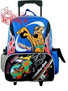 Scooby Doo Large Rolling Backpack