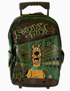 Scooby Doo Large Backpack – Rolling