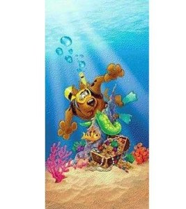 Scooby-Doo Scuba Beach Towel