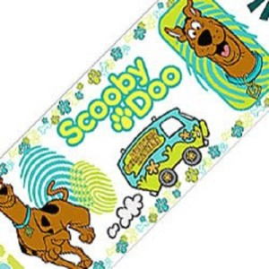 Scooby Doo Peel & Stick Wall Border