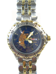 Silver and Gold Scooby Doo Watch